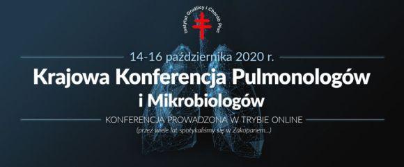 Krajowa Konferencja Pulmonologów i Mikrobiologów 14-16.X.2020